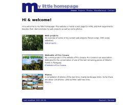 Foto von meine kleine Homepage