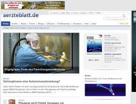 Foto von Deutsches Ärzteblatt: Homepage