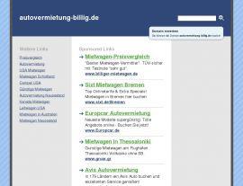 Foto von autovermietung-billig.de - Der Mietwagen Experte