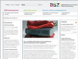 Foto von Bibliotheksservice-Zentrum Baden-Württemberg - Homepage des BSZ