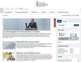 Foto von Deutsche Bundesbank - Startseite