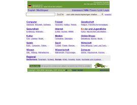 Foto von dmoz.de - Open Directory Project - Startseite für Deutschland