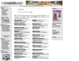 Foto von Online-Shop-Verzeichnis :: eshopinfo.de