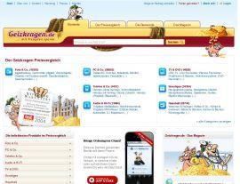 Foto von Preisvergleich kostenlos bei Geizkragen.de, den Pflichtseiten für clevere Verbraucher!
