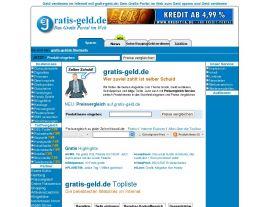 Foto von Geld verdienen im Internet mit gratis-geld.de, das Gratis Portal im Internet: z.B. gratis Klingelton, Gratisproben