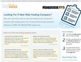 Foto von Web Hosting Services, Compare Web Hosting, Web Hosting Comparison