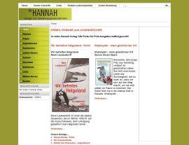 Foto von Hannah-Verlag