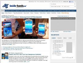 Foto von Handytest - HandyDatenblatt - Handyforum - Erfahrungsberichte