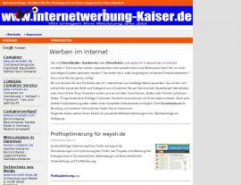 Foto von Internetwerbung-Kaiser.de + Ihre Werbung im Internet