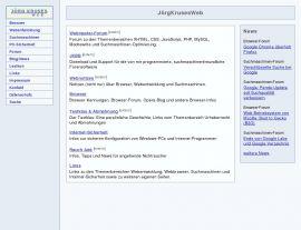Foto von Homepage von Jörg Kruse