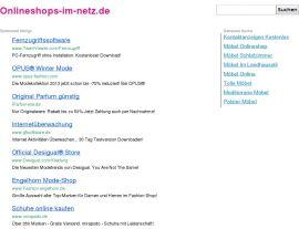 Foto von Onlineshopping bedeutet preiswert Einkaufen in zahlreichen Onlineshops - Shop-Portal, Portal, Onlineshopping, Verzeichnis, Einkaufen