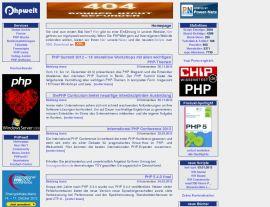 Foto von PHP - PHPWelt - die Welt von PHP und MySQL - Homepage - Scripte, Tutorials, Bücher