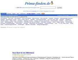 Foto von Kostenlose Kleinanzeigen bei prima-finden.de