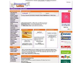 Foto von ShoppingLotse.de - Startseite - online Einkaufen - Shopping Guide