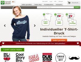 Foto von spreadshirt: mein Shirt-Shop - eigene T-Shirts, Caps und Tassen bedrucken und verkaufen : Spreadshirt.de