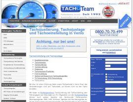 Foto von Tachojustierung an Tacho, Kombiinstrument und Tachometer