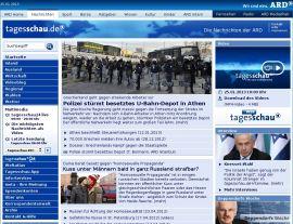 Foto von Aktuelle Nachrichten - Inland Ausland Wirtschaft Kultur Sport - ARD Tagesschau