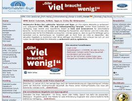 Foto von Webmaster, Tutorials und Generatoren - Webmaster-Eye.de
