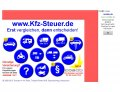 Webseite http://www.kfz-steuer.de