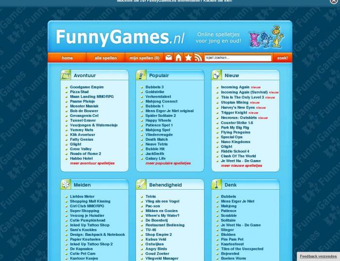 Funnygames Nl Spelletjes Voor Jong En Oud Funny Games Spelletjes Voor Jong En Oud