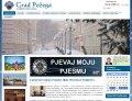 Webseite http://www.pozega.hr