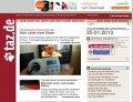 Webseite http://www.taz.de